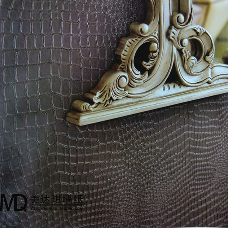 croc skin wall 2012 wallpaper brief modern faux leather embossed 736x736