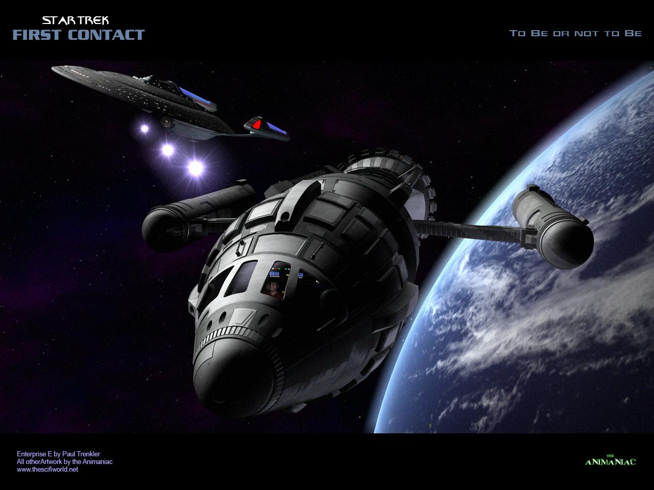 Download Star Trek Movies wallpaper Star Trek First Contact 1280x960