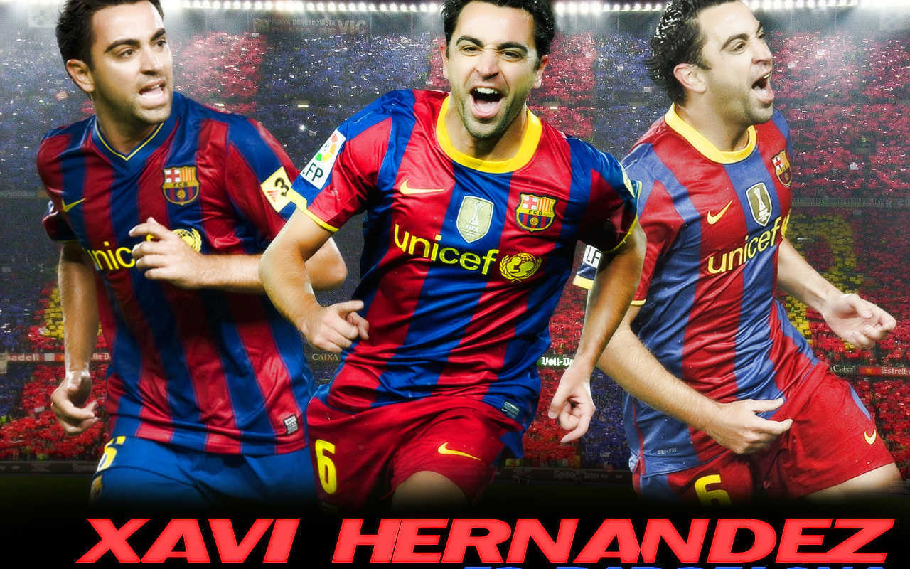 Football Xavi Hernandez hd Wallpapers 2013 1280x800