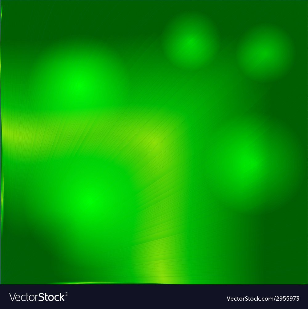 Abstract blur background green and fresh bo Vector Image 1000x1003