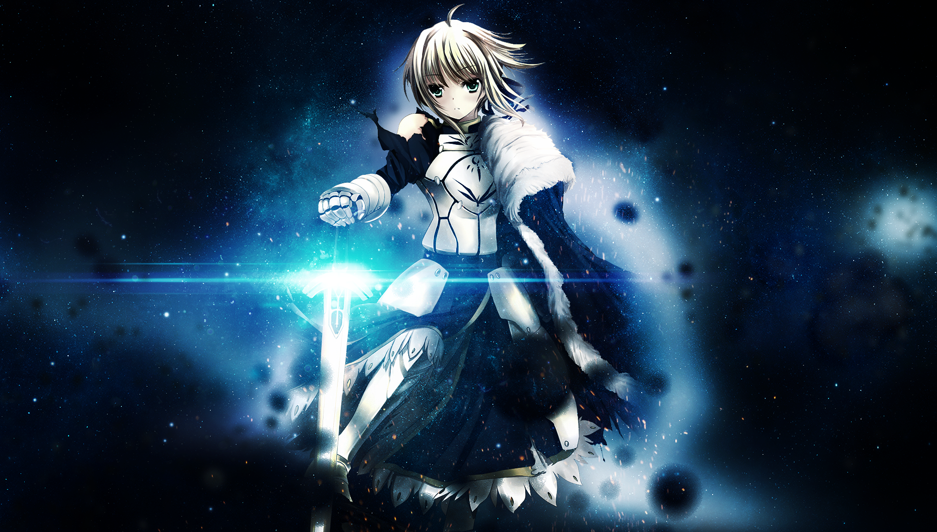 fate stay night saber by lkoizumil customization wallpaper fantasy 1900x1080