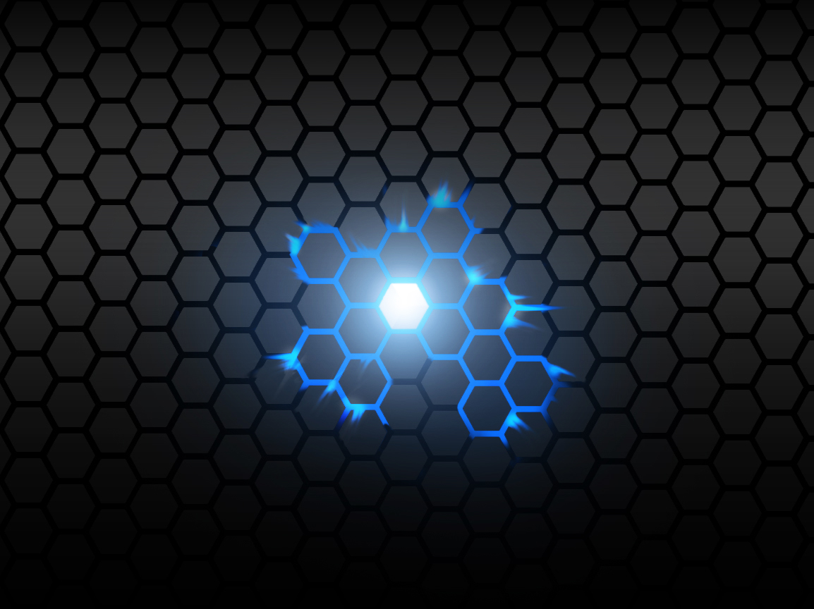 Free download Metal Comb Glowing Blue HD Wallpaper The