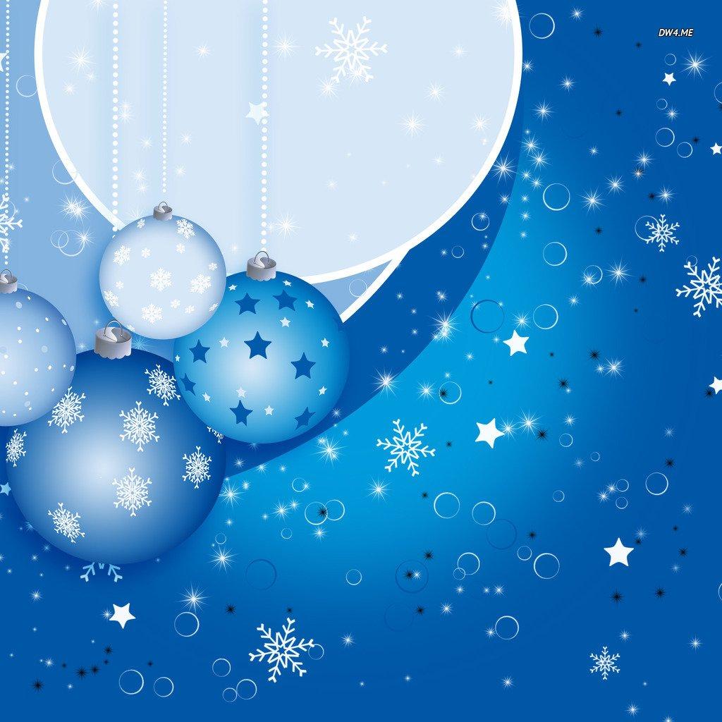 Blue Christmas Wallpaper - WallpaperSafari