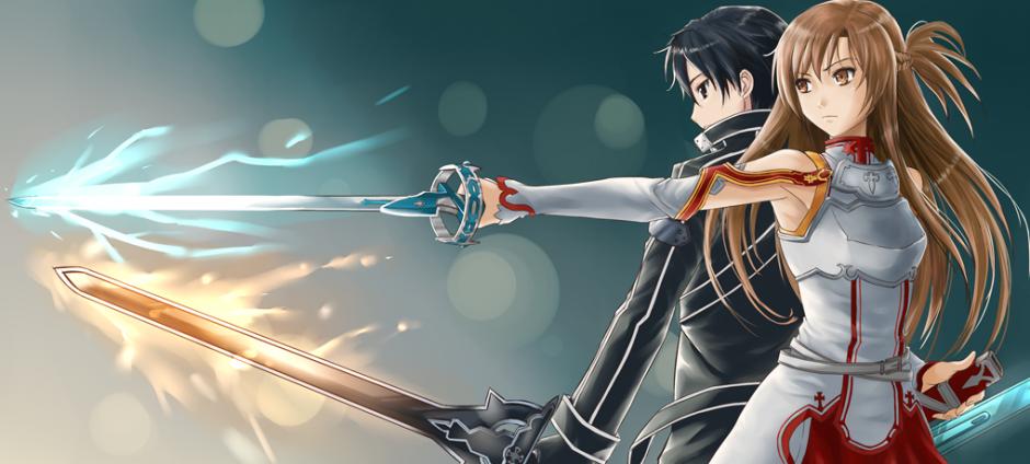 Asuna Yuuki Wallpaper Sword 940x424