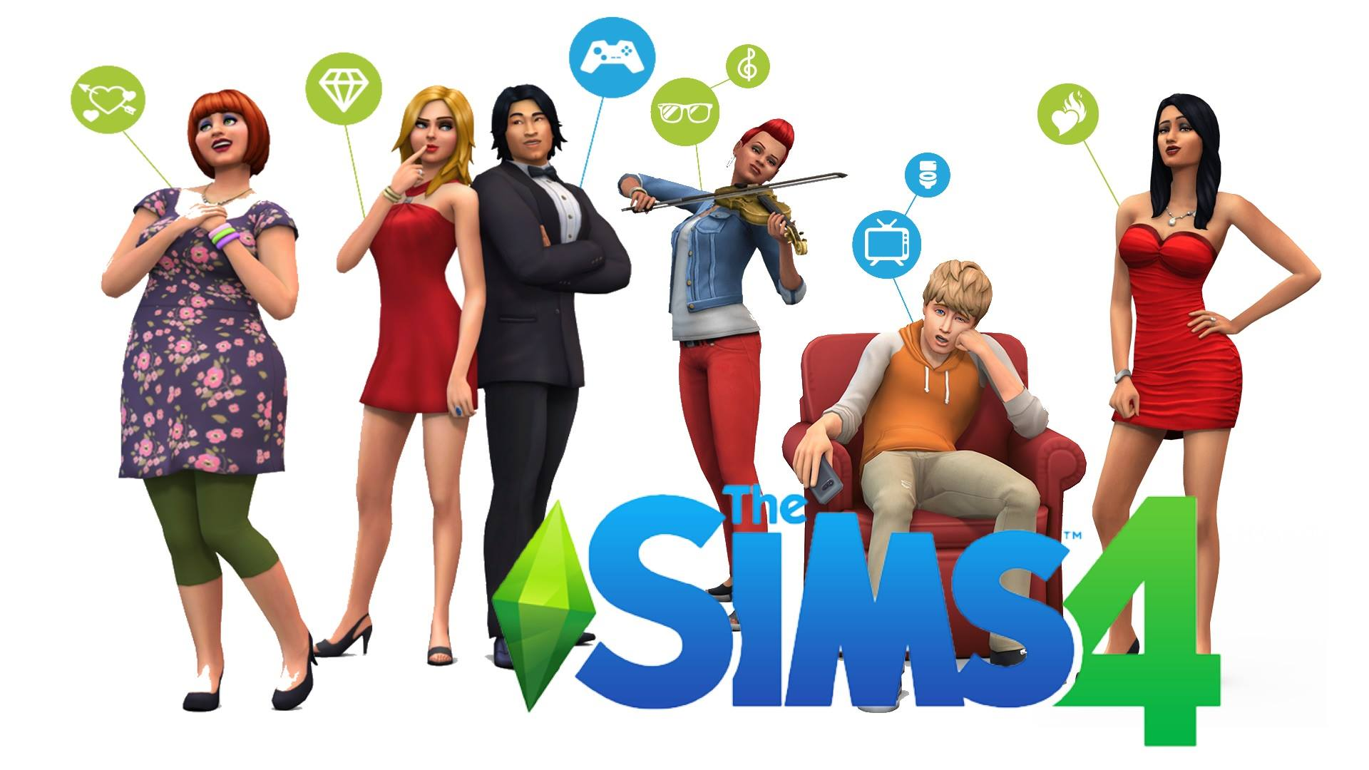 Free Download Wallpaper Do The Sims 4 1920x1080 For Your Desktop