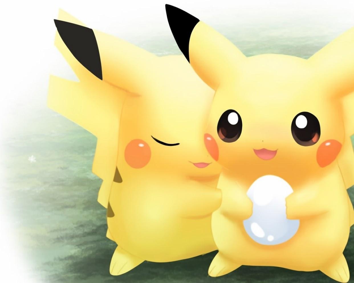 Cute pikachu wallpapers wallpapersafari - Images de pikachu ...