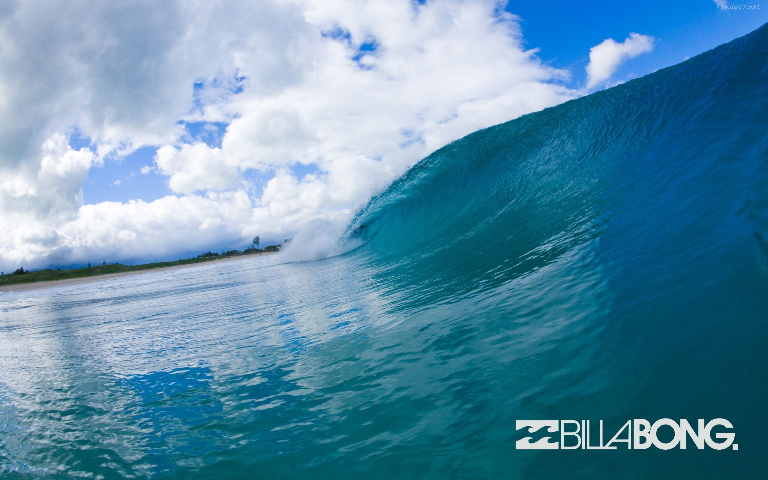 Billabong Surf Wallpaper Olas billabong surfing bajo 2560x1600