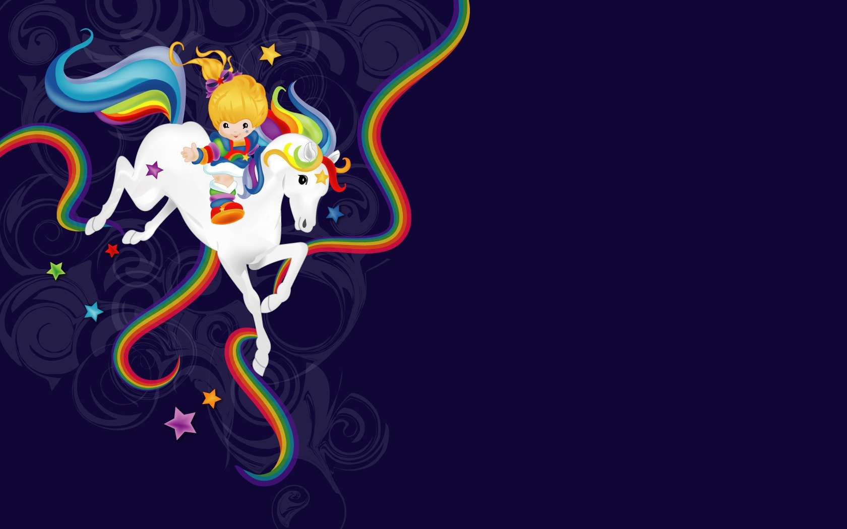 Rainbow Brite And Starlite Wallpaper Hd Wallpapers 1680x1050