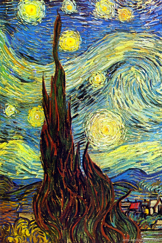 van gogh iphone wallpaper gogh wallpaper for iphone wallpapersafari 5118