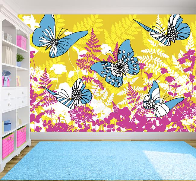 Grown Ups Guide To Kids Wallpaper Wallpapered blog 650x600