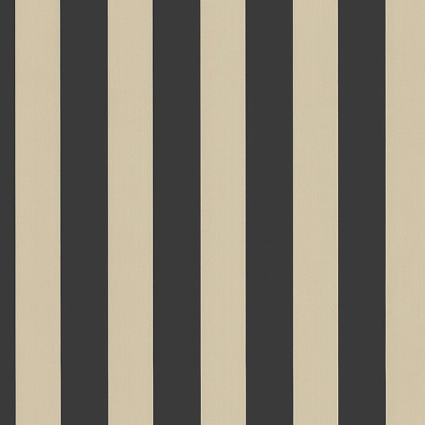 Black and Beige Stripe Wallpaper Sample   Traditional   Wallpaper 600x600