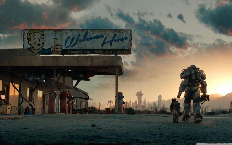 Fallout 4 Trailer 4K HD Desktop Wallpaper for 4K Ultra HD TV 1440x900
