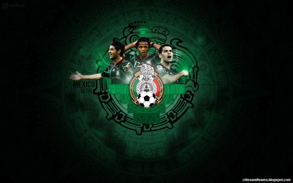 Mexico El Tri National Football Team Stars Hd Desktop Wallpaper Ca 1024x640