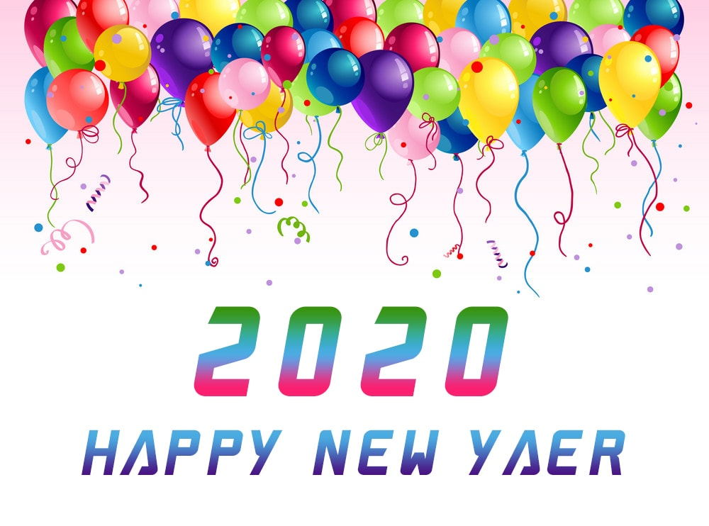 Happy New Year 2020 Wallpapers HD   SPC 1000x742