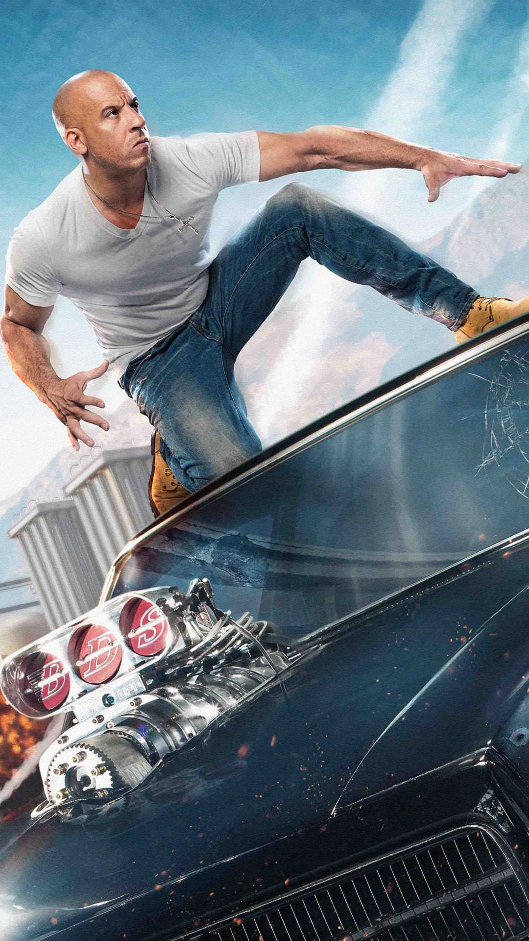 Vin Diesel Fast And Furious 9   1080x1920 Wallpaper   teahubio 1080x1920