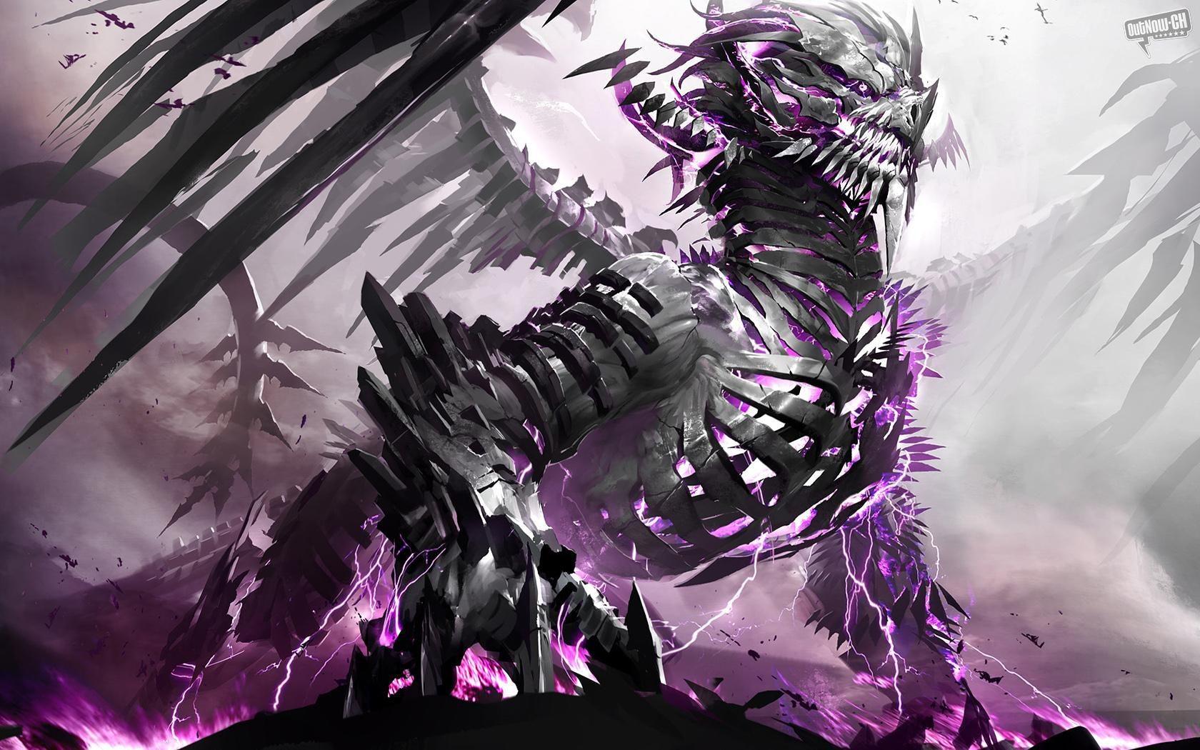 Dragon Google Skins Purple Lightning Dragon Google Backgrounds 1680x1050