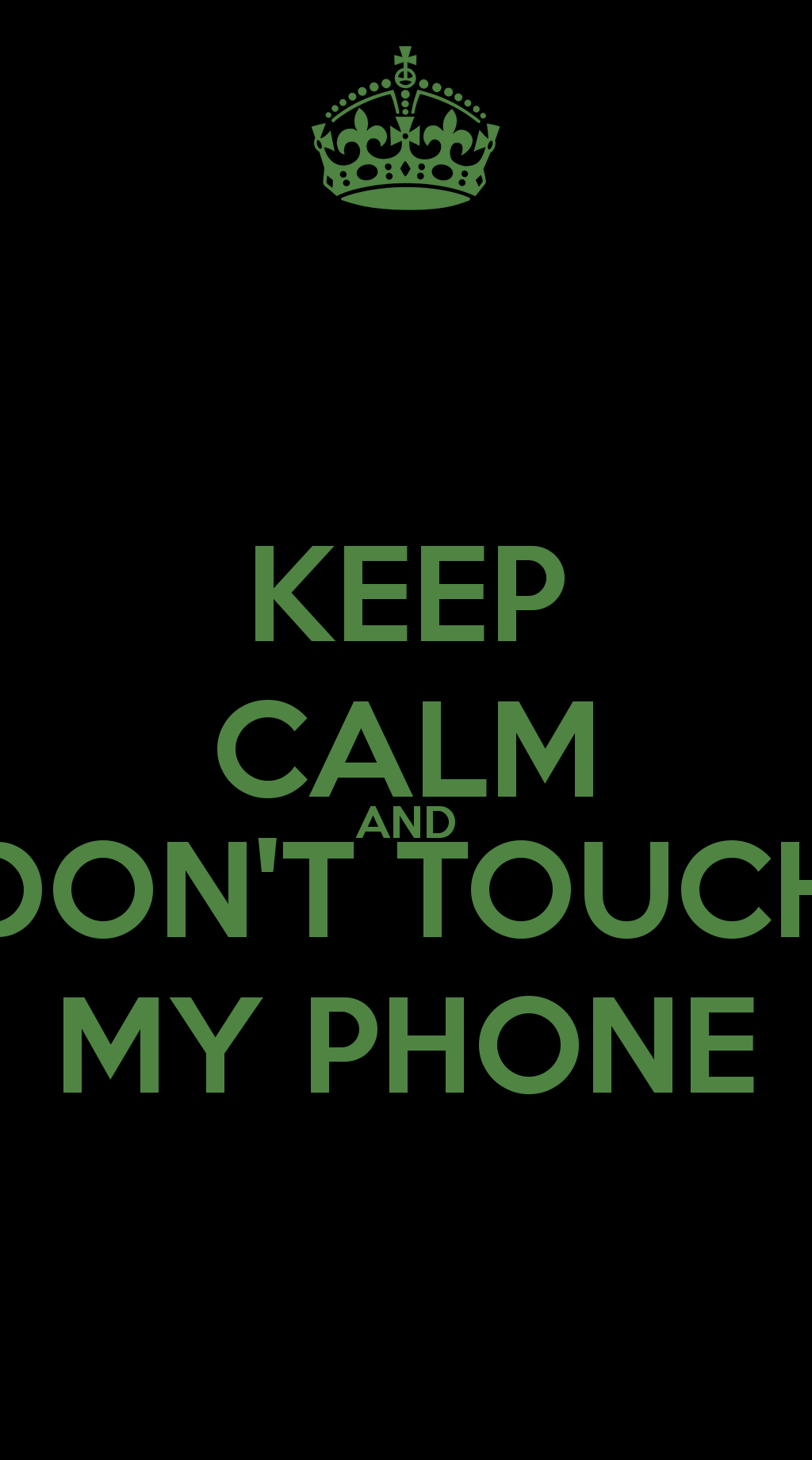 50+] Don T Touch My Phone Wallpapers on
