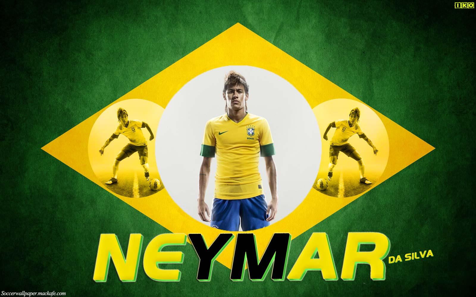 Neymar Wallpaper Brazil ImageBankbiz 1600x1000