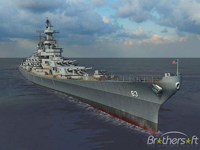 Missouri 3D Screensaver Battleship Missouri 3D Screensaver 11 640x480