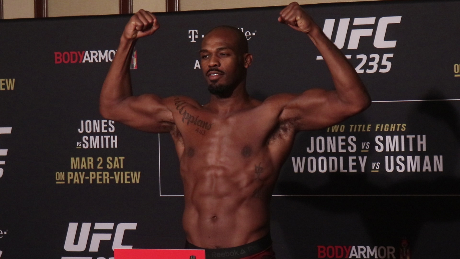 UFC 235 title bouts official as all four fighters make weight 1600x900