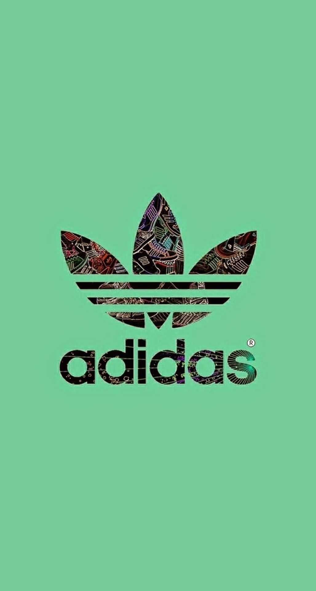 17 Green Adidas Logo Wallpapers On Wallpapersafari