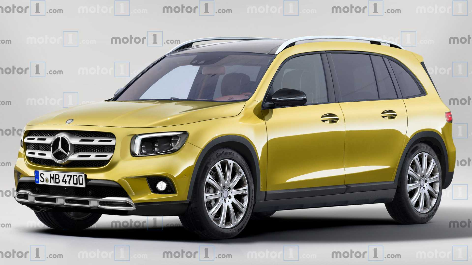 Mercedes GLB Reveals Its Boxy Shapes In Virtual Reality 1920x1080