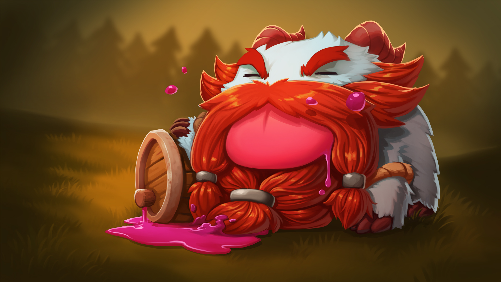 Gragas Poro   Wallpapers HD League Of Legends Wallpapers Art of LoL 1920x1080