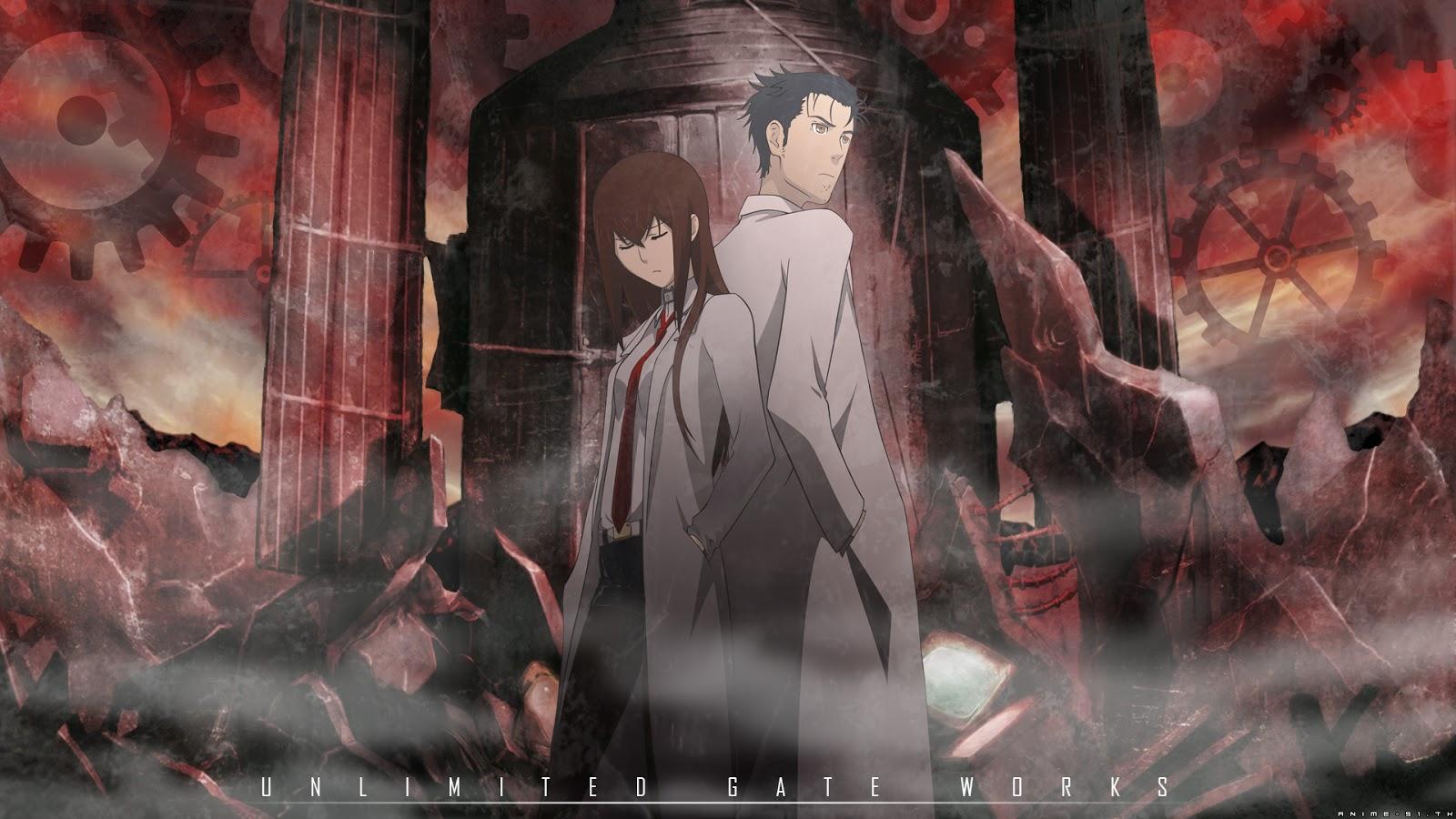 Moonlight Summoners Anime Sekai SteinsGate 1600x900