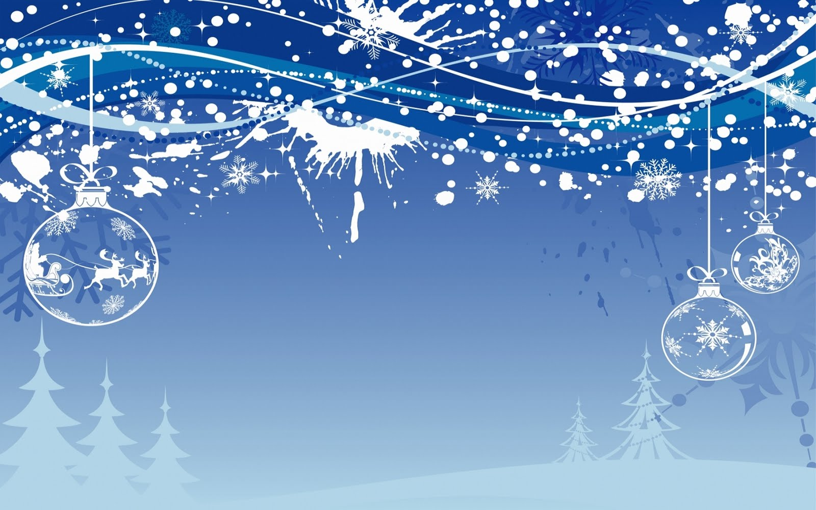 Christmas Winter Desktop Wallpapers 1600x1000