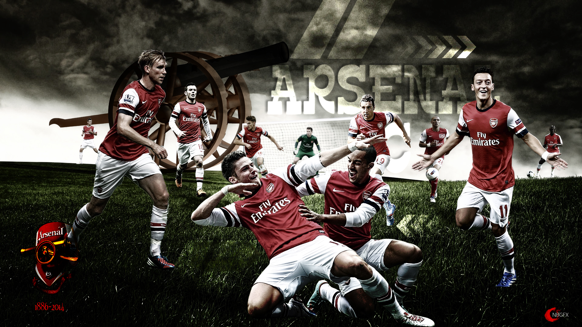 ARSENAL FC WALLPAPER  HD by nirmalyabasu5 1920x1080