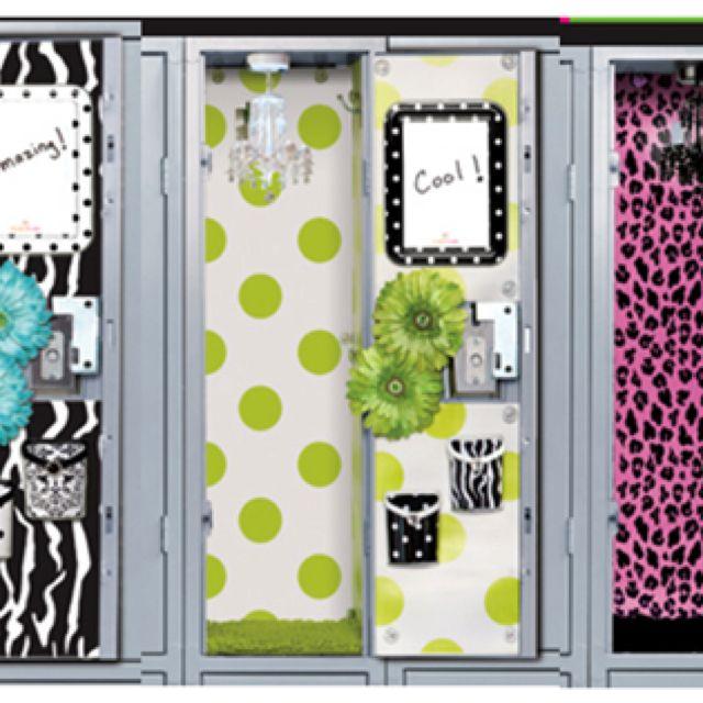 Locker Wallpaper Diy: Magnetic Locker Wallpaper For Boys