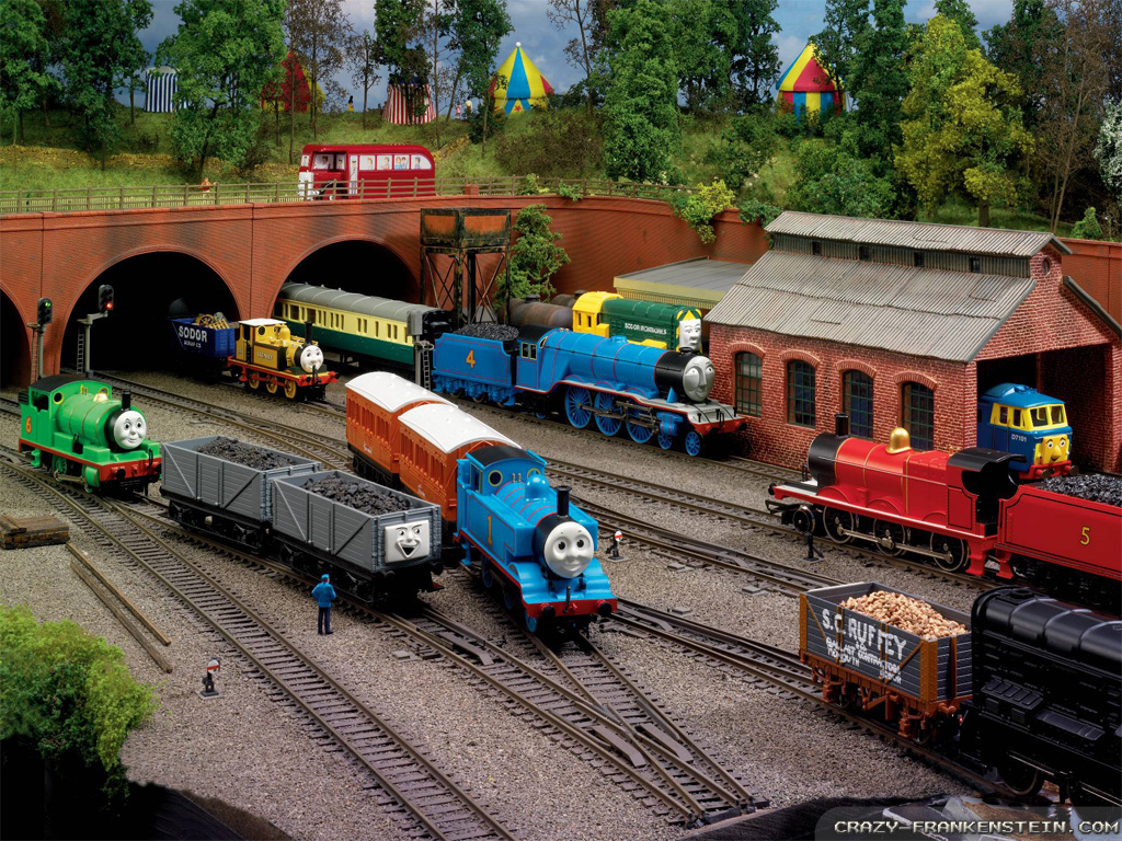Showing Gallery For Thomas And Friends Desktop Wallpaper 1024x768