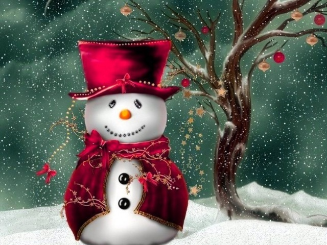 Snowman Screensavers and Wallpaper (46 images)