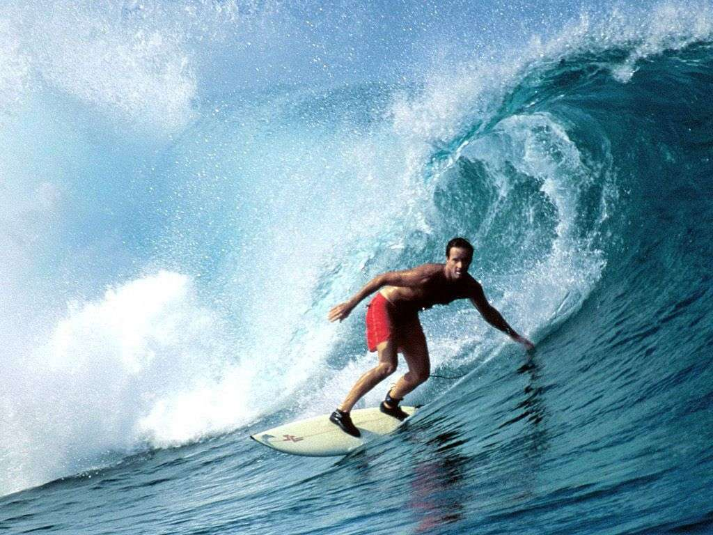 Sometimes, best thing to do is just go surfing