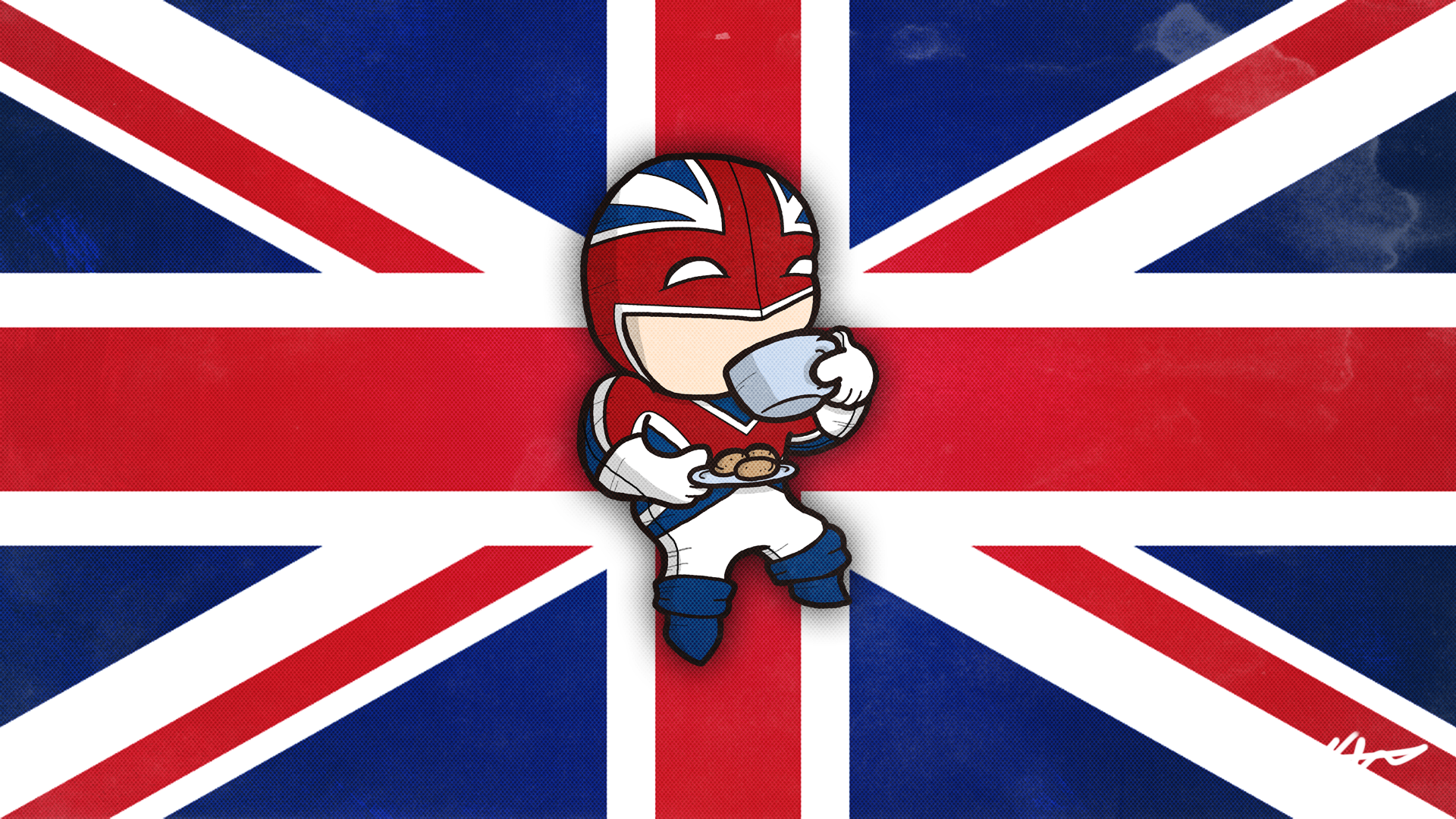 Was Requested to Draw Captain Britain [1920x1080]   Imgur 1920x1080