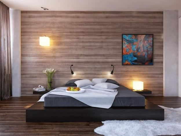 Laminate flooring ideas transformed for modern wall design 625x469