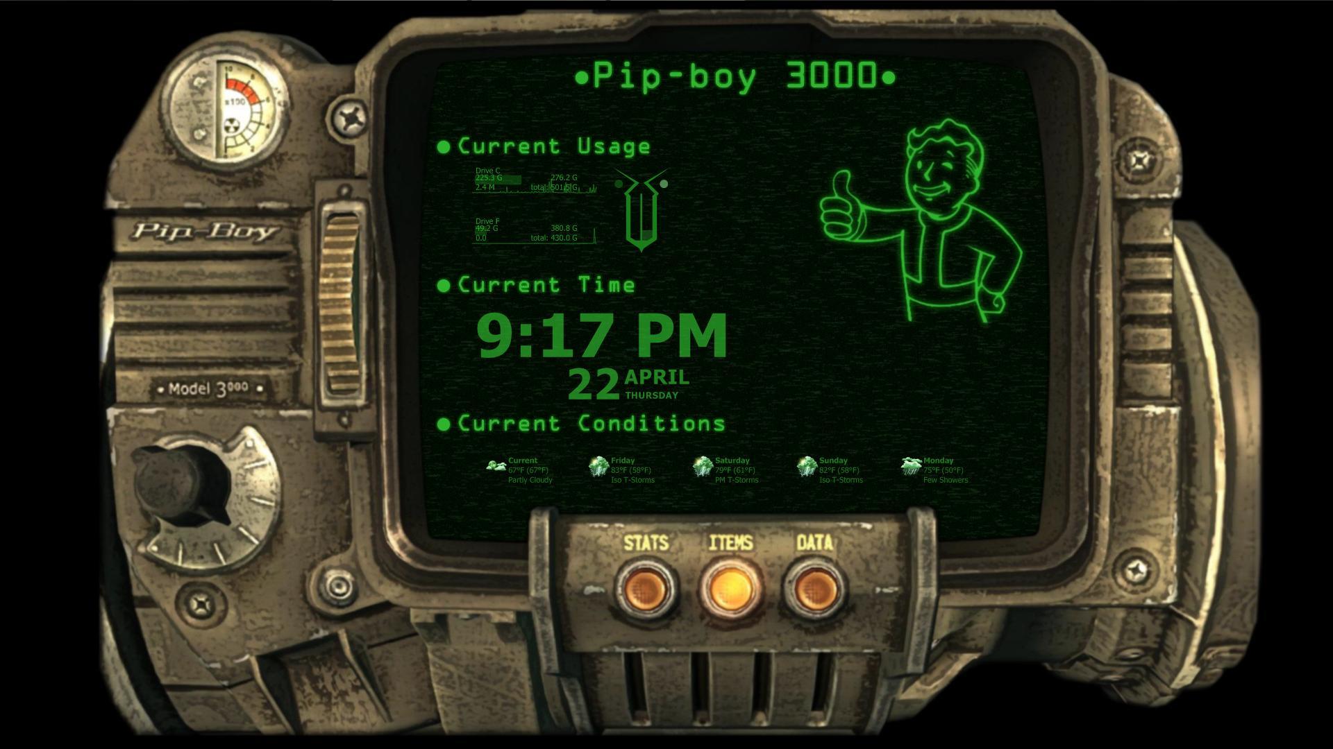 atom bomb pinup pip boy wallpapers