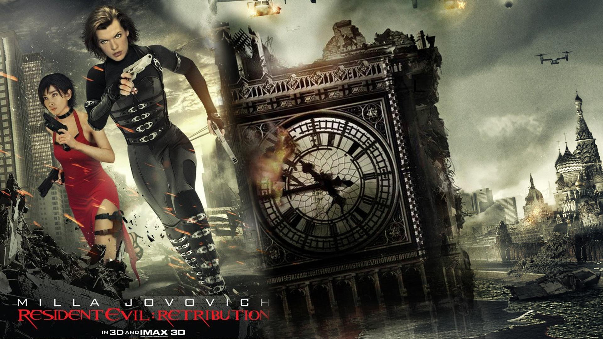 77 Resident Evil Movie Wallpaper On Wallpapersafari