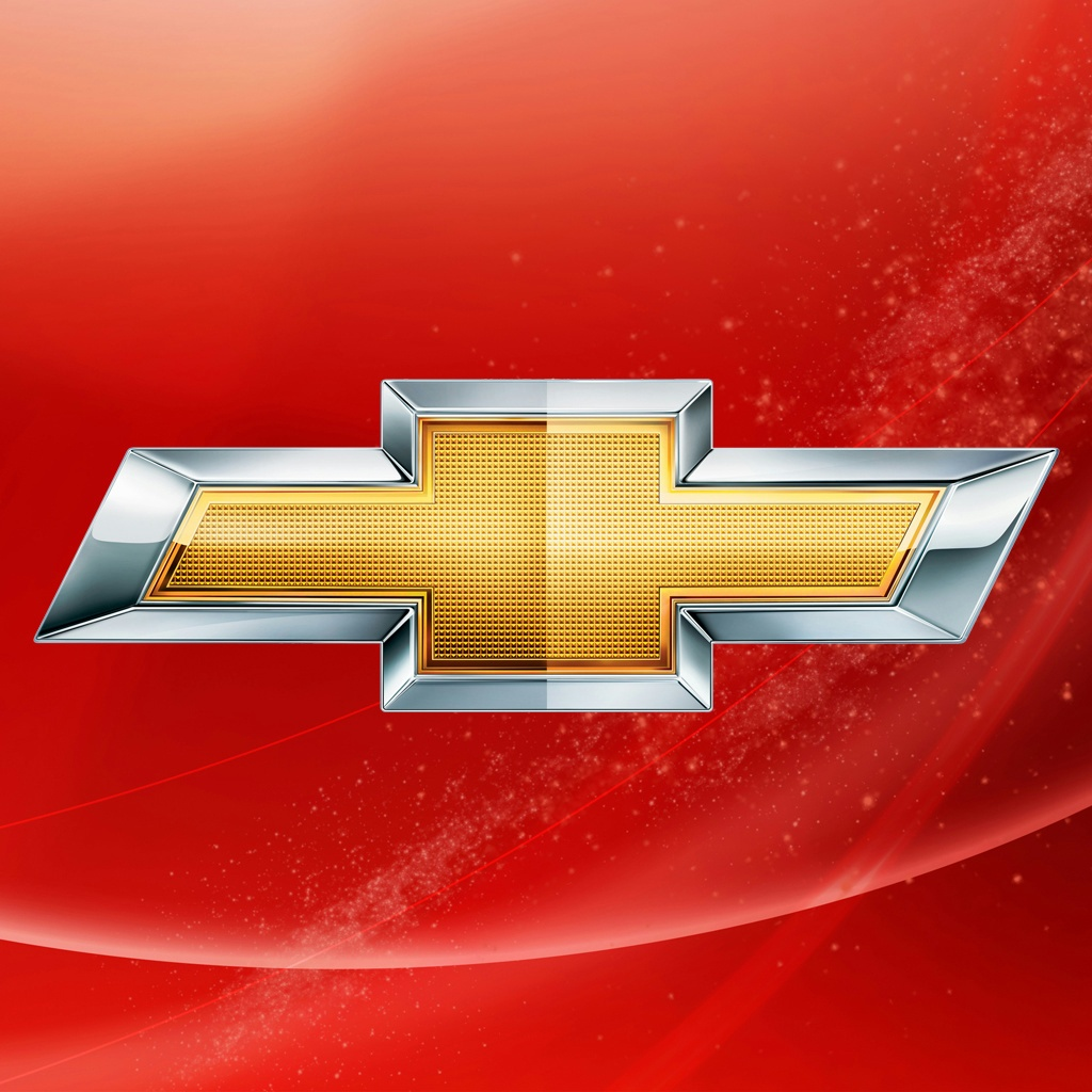 Chevrolet Logo iPad Wallpaper and iPad 2 Wallpaper GoiPadWallpapers 1024x1024