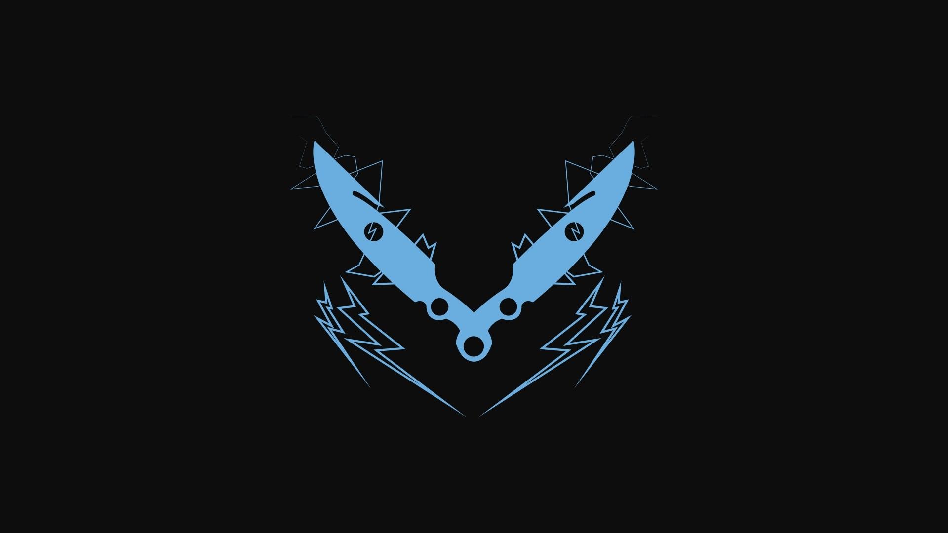 Bladedancer and Gunslinger Minimalist Wallpapers DestinyTheGame 1920x1080