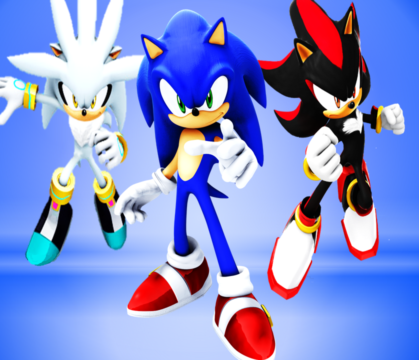 Sonic Shadow And Silver Wallpaper