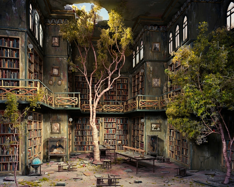 The Old Library Wallpaper Here Orientation horizontal Dimensions 800x640