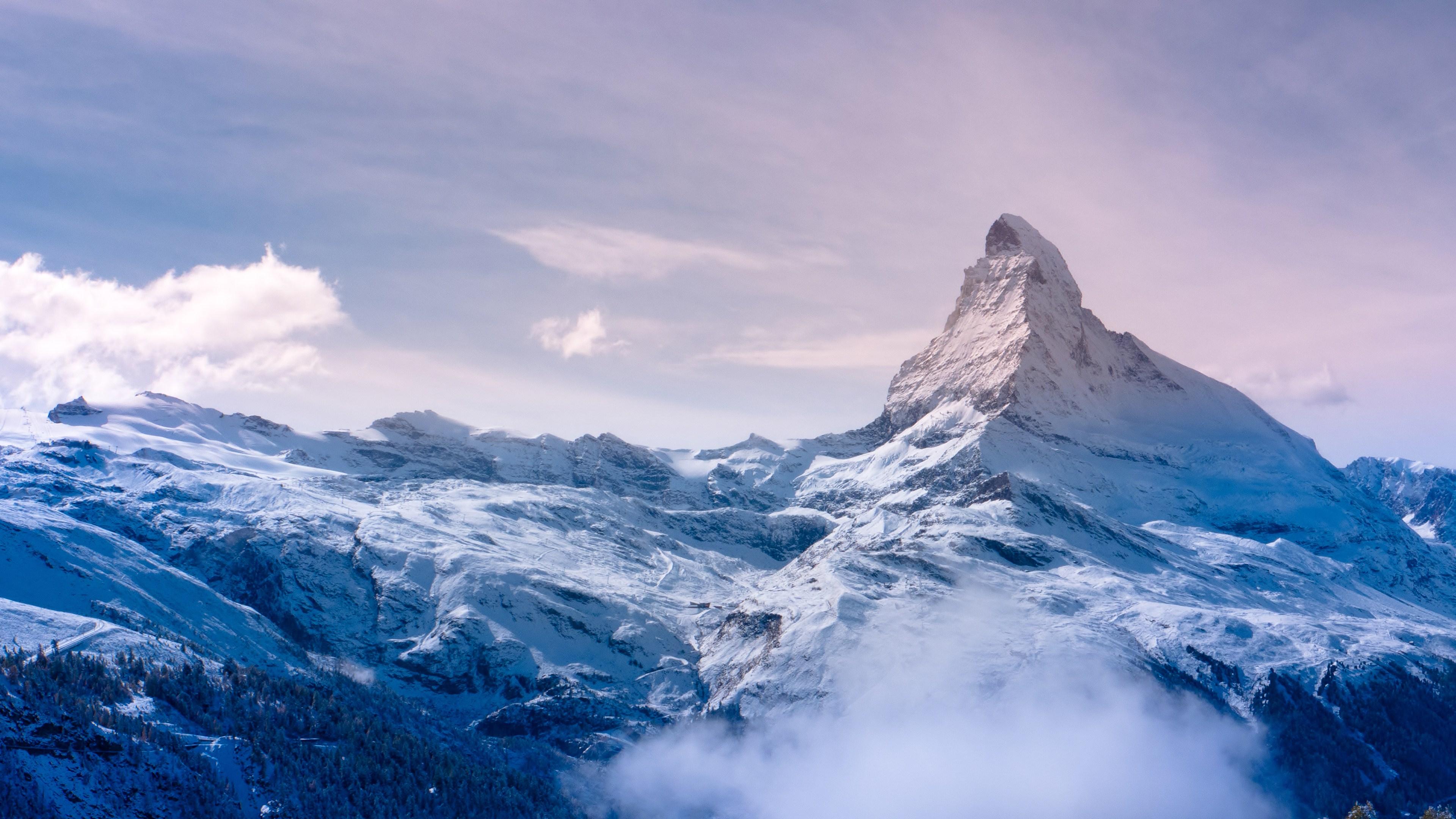 Winter Mountain wallpaper 3840x2160 196171 WallpaperUP 3840x2160