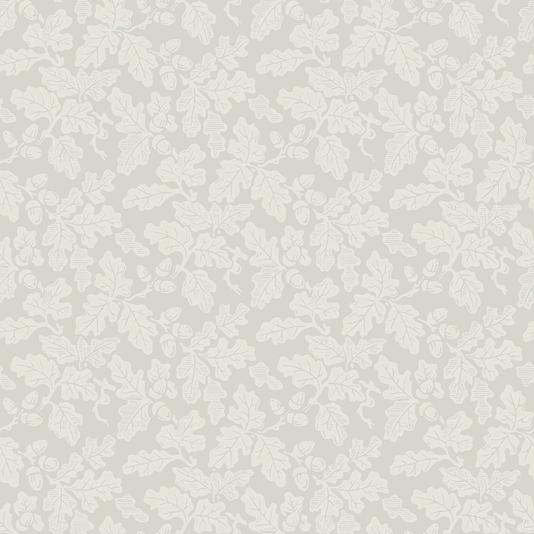 Oak Leaf Wallpaper Off white on pale grey oak leaf design wallpaper 534x534