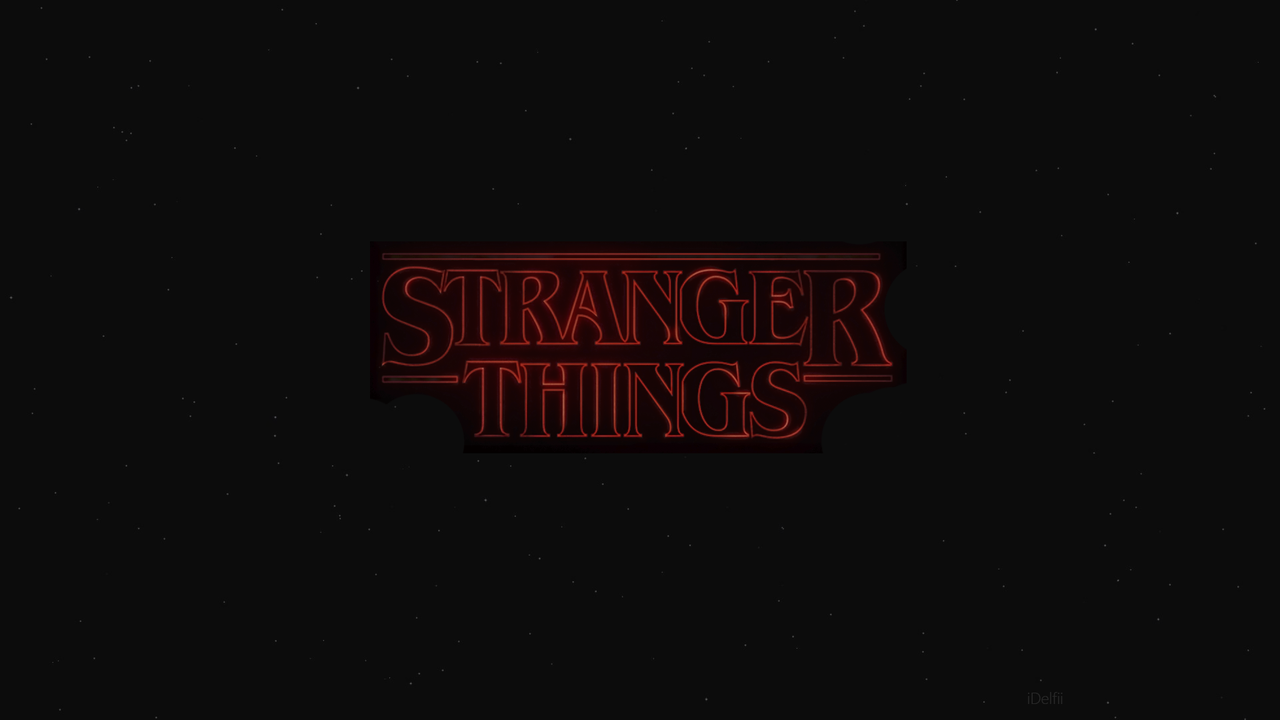 Stranger Things Wallpaper by iDelfii 1280x720