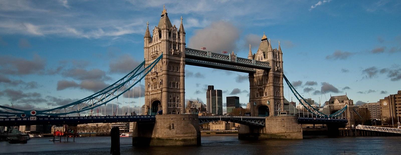 Tower Bridge London Icon Suspension Bridge River Thames 1600x622