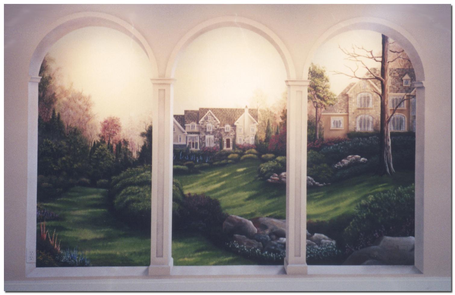 Murals Custom Hand Painted Wall Murals by Art Effects 1510x979