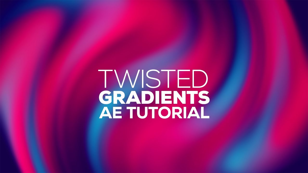 After Effects Tutorials   Twisted Gradient Backgrounds in After 1280x720