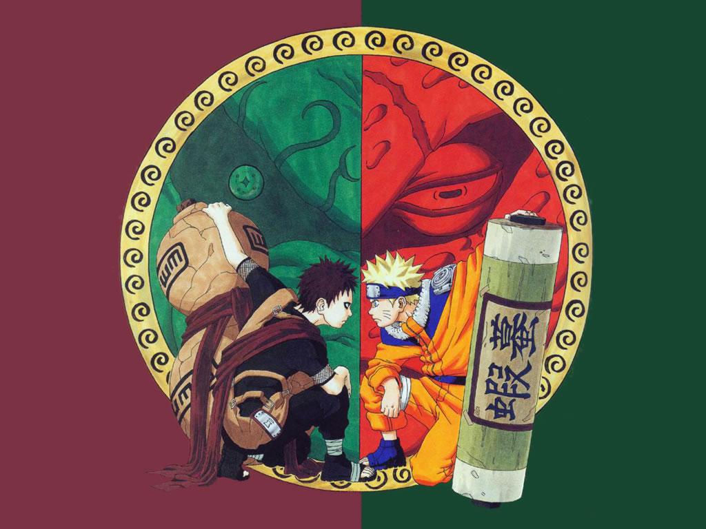 Naruto Vs Gaara Wallpaper 9416 Hd Wallpapers in Anime   Imagesci 1024x768