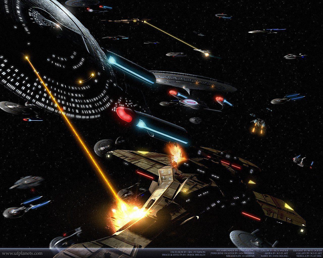 Star Trek Ships Wallpapers 1280x1024